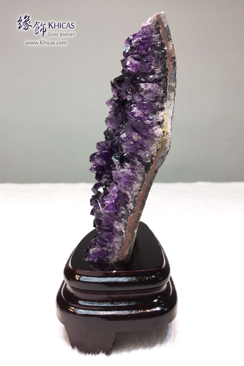 烏拉圭紫水晶花擺設 Amethyst Cluster Furnish AF1535038 @ Khicas Gems 緣飾