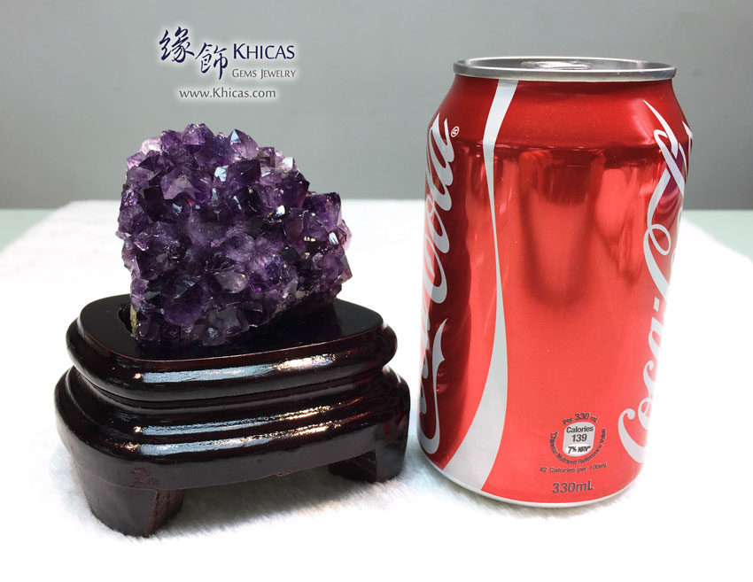烏拉圭紫水晶花擺設 Amethyst Cluster Furnish AF1535040 @ Khicas Gems 緣飾