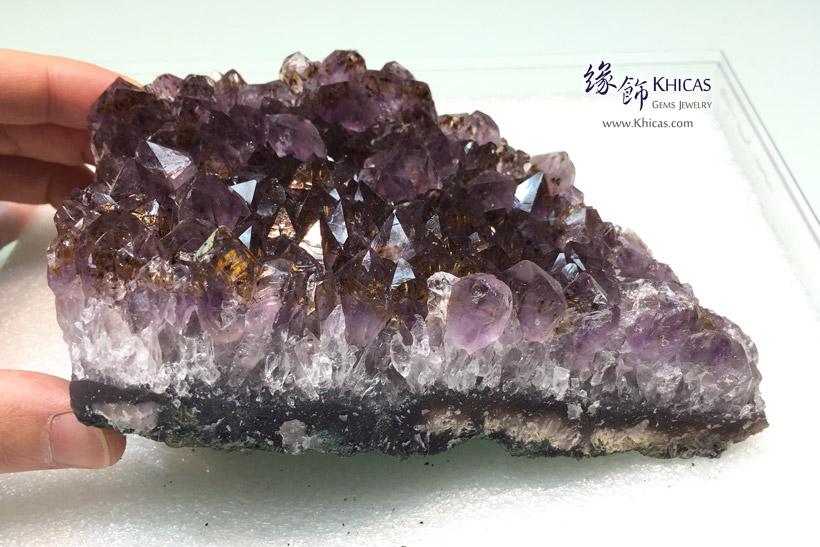 巴西紫水晶簇擺設 Amethyst Cluster Furnish AF1535046 @ Khicas Gems Jewelry 緣飾天然水晶