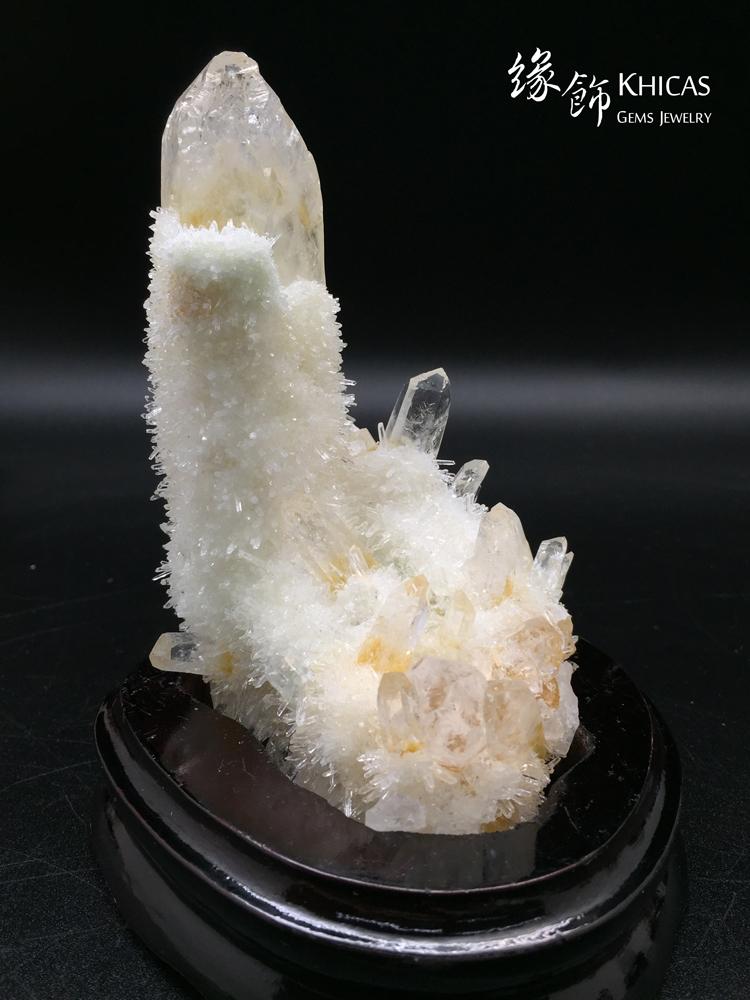 Khicas Gems Jewelry 緣飾天然水晶半寶石 巴西黃水晶簇 CL1506007