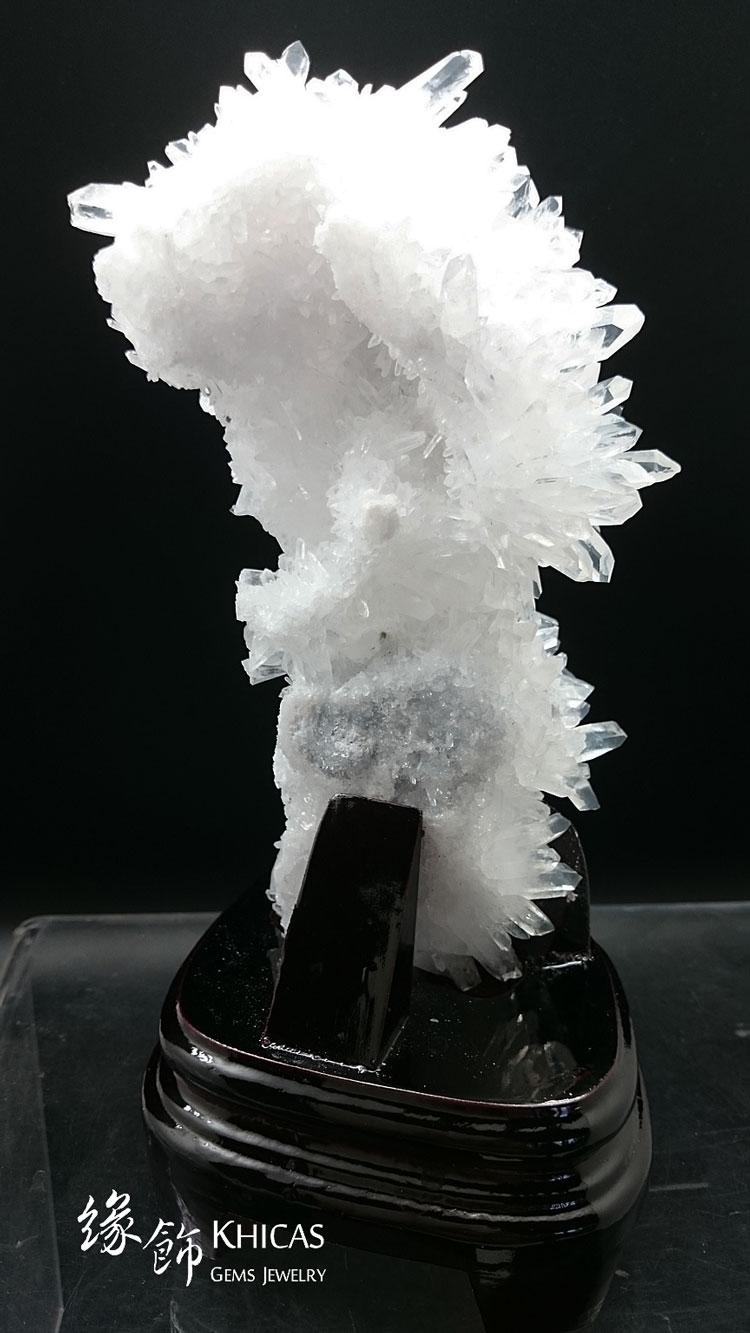 5A+ 巴西白水晶簇 CL1506038 @ Khicas Gems 緣飾