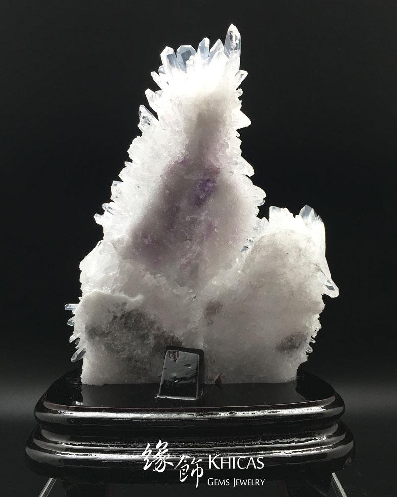 5A+ 巴西白水晶簇 CL1506074 Khicas Gems 緣飾