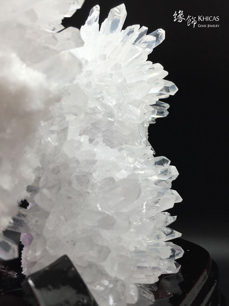 5A+ 巴西白水晶簇 CL1506076 Khicas Gems 緣飾