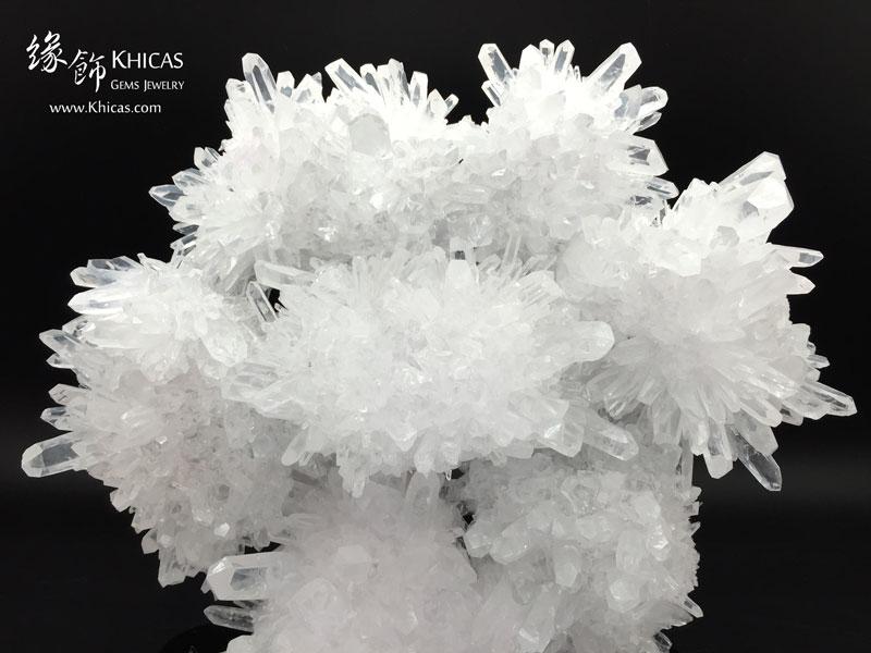 5A+ 巴西白水晶簇 CL1506078 Khicas Gems 緣飾