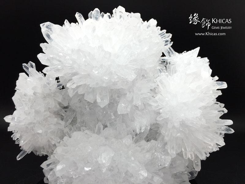 5A+ 巴西白水晶簇 CL1506080 Khicas Gems 緣飾
