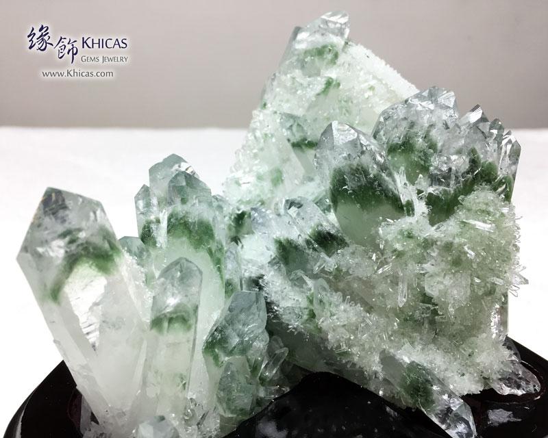 巴西 5A+ 綠幽靈水晶簇 Green Phantom Cluster CL1506114 @ Khicas Gems 緣飾