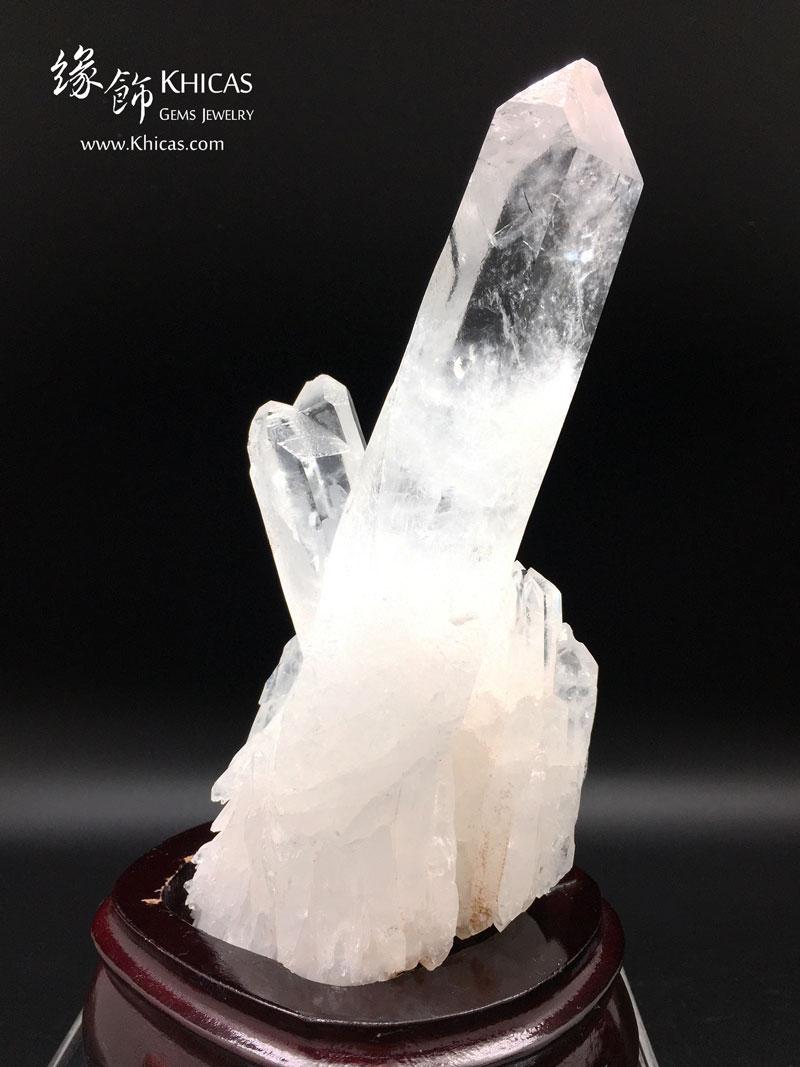 亭亭玉立.5A+ 巴西白水晶簇 CL1506129 Khicas Gems 緣飾