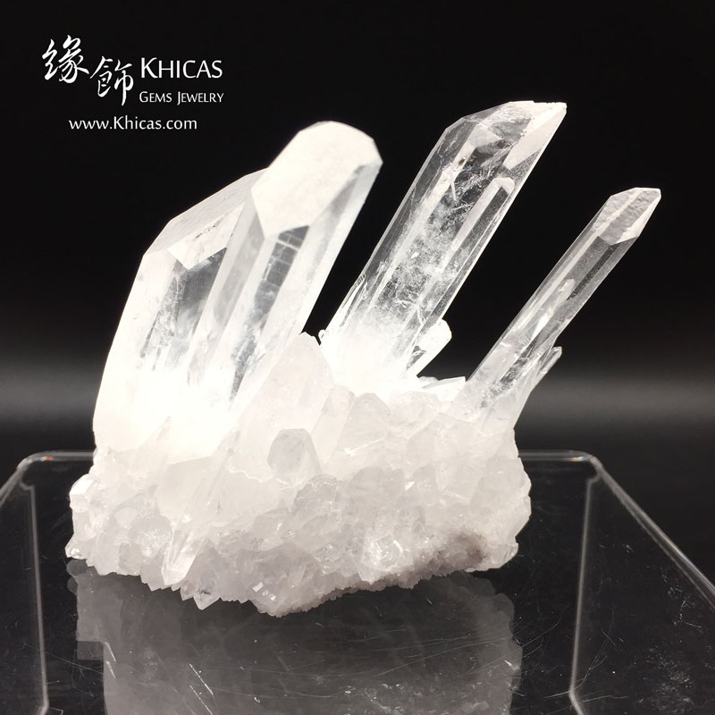 5A+ 巴西白水晶簇 White Quartz Crystal Cluster CL1506140 Khicas Gems 緣飾