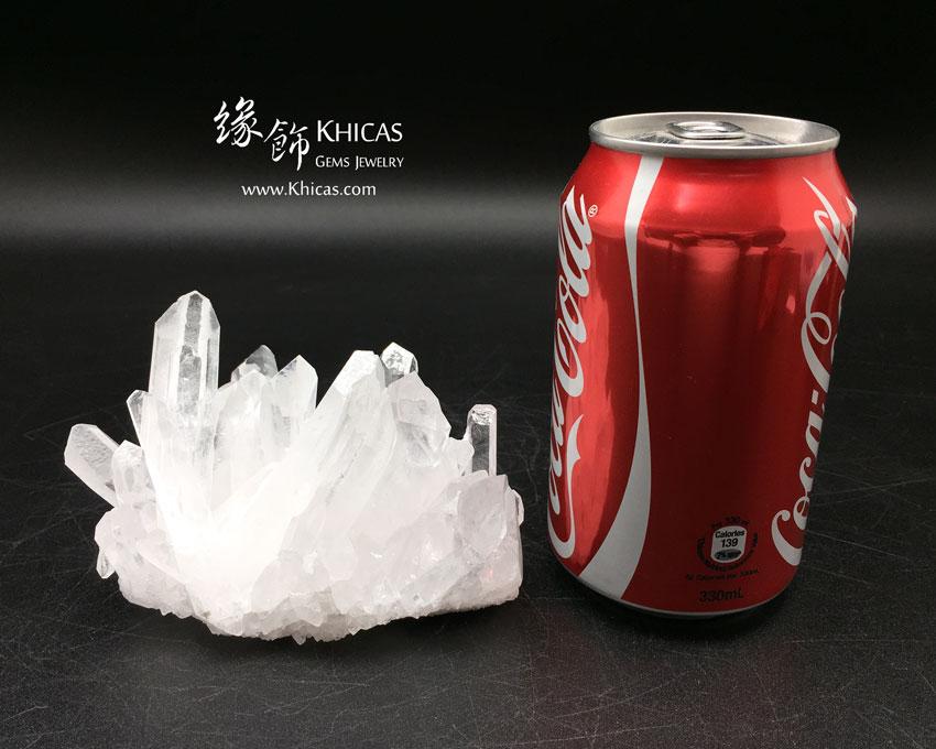 5A+ 巴西白水晶簇 White Quartz Crystal Cluster CL1506141 Khicas Gems 緣飾