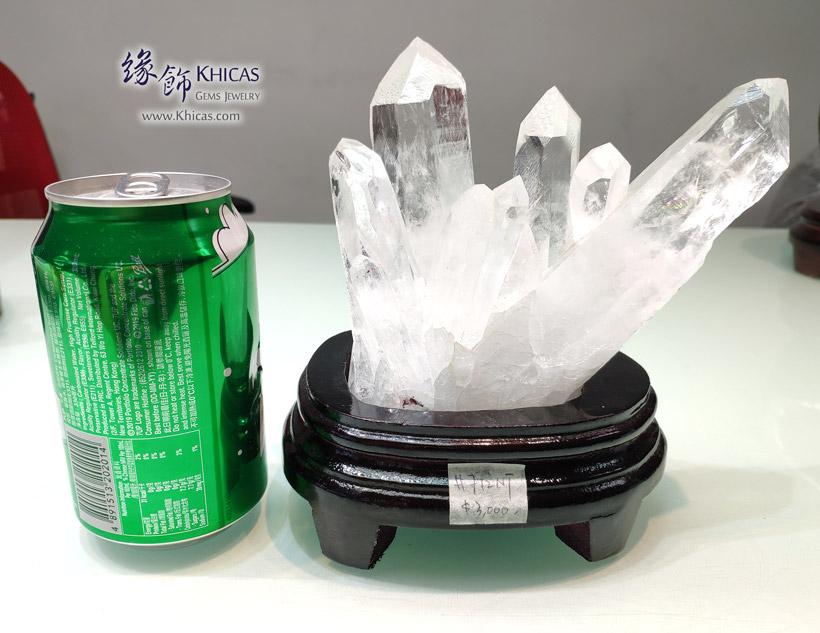 5A+ 巴西白水晶簇 White Quartz Crystal Cluster CL1506144-712 @ Khicas Gems Jewelry 緣飾天然水晶