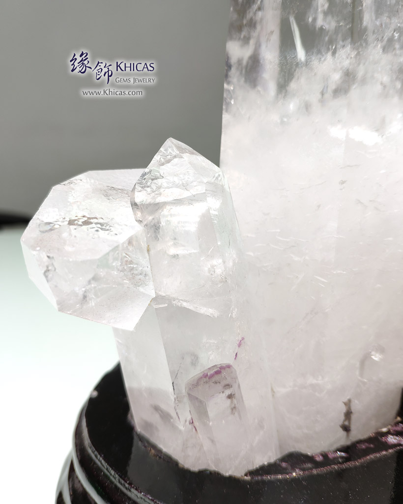 5A+ 巴西白水晶簇 White Quartz Crystal Cluster CL1506145-822 @ Khicas Gems Jewelry 緣飾天然水晶