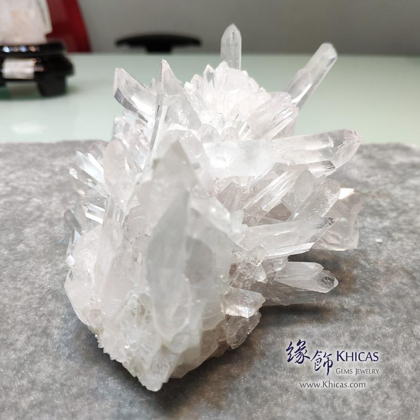 5A+ 巴西白水晶簇 White Quartz Crystal Cluster CL1506148-738 @ Khicas Gems Jewelry 緣飾天然水晶