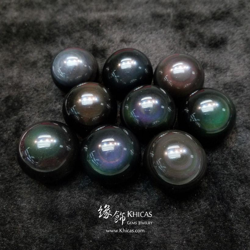 黑曜石水晶球 直徑 ⌀36mm Obsidian Crystal Balls 36mm DEC1410151 @ Khicas Gems Jewelry 緣飾天然水晶