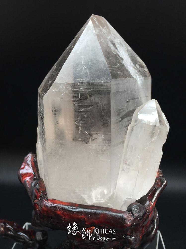 巴西骨幹水晶柱 Elestial/Skeletal Crystal CP1508012 @ Khicas Gems 緣飾
