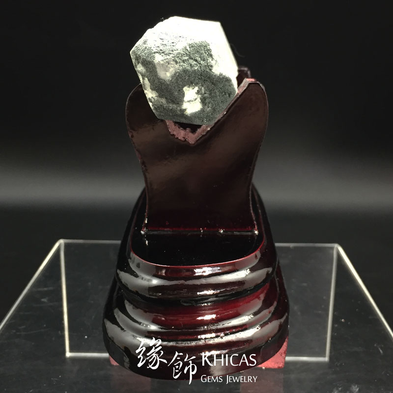 巴西雙尖晶柱 Double Terminated Crystal CP1508013 @ Khicas Gems 緣飾