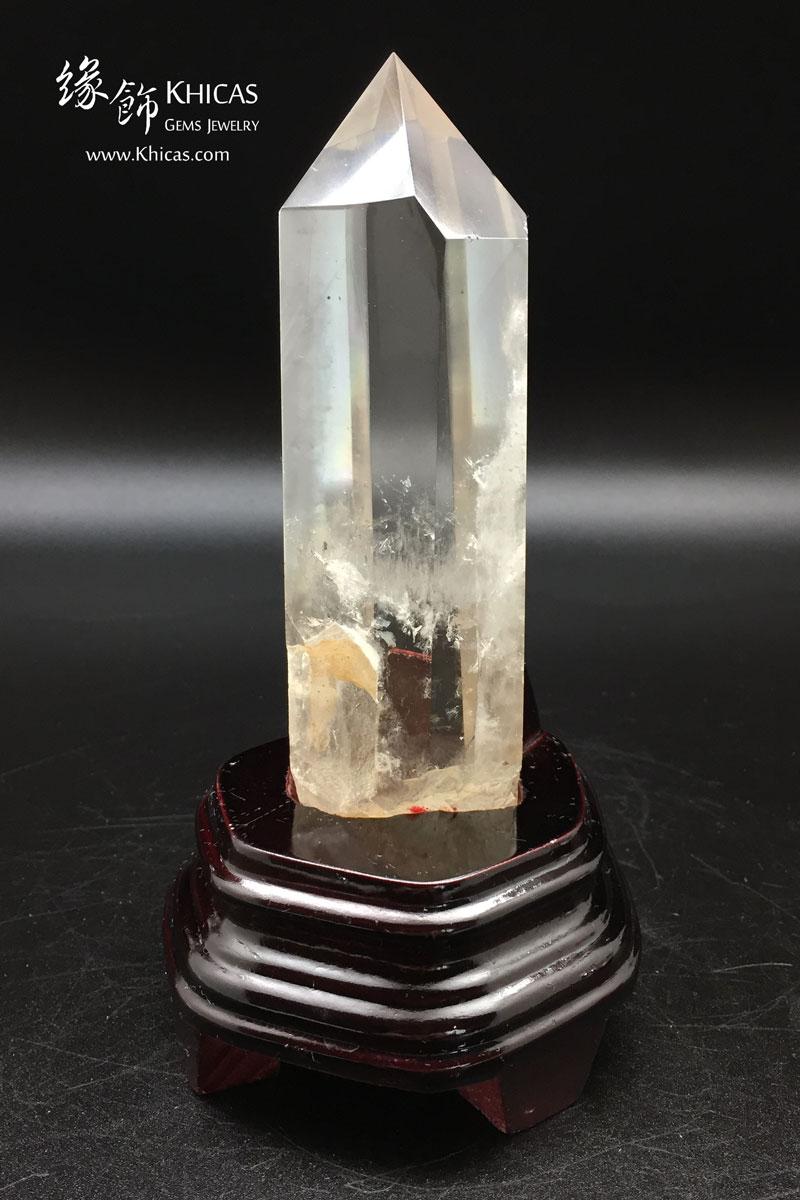 Khicas Gems 緣飾天然水晶 巴西白水晶柱(帶茶色) CP1508033
