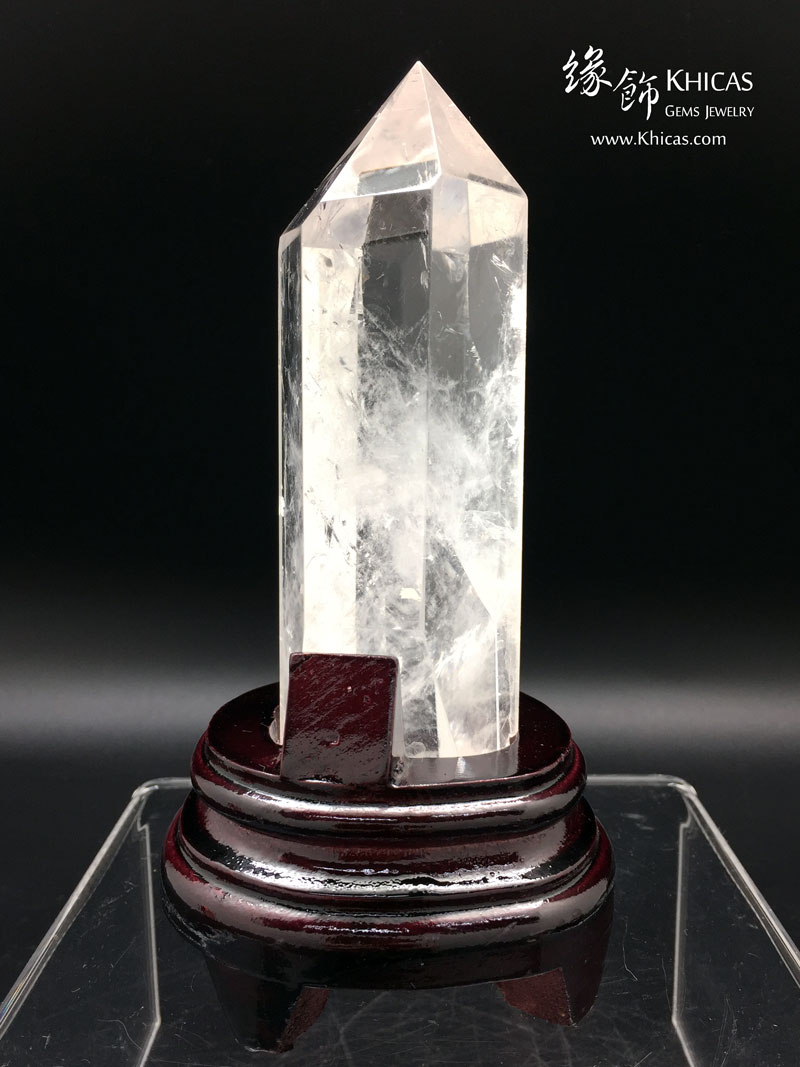 巴西白水晶柱 CP1508036 @ Khicas Gems 緣飾天然水晶