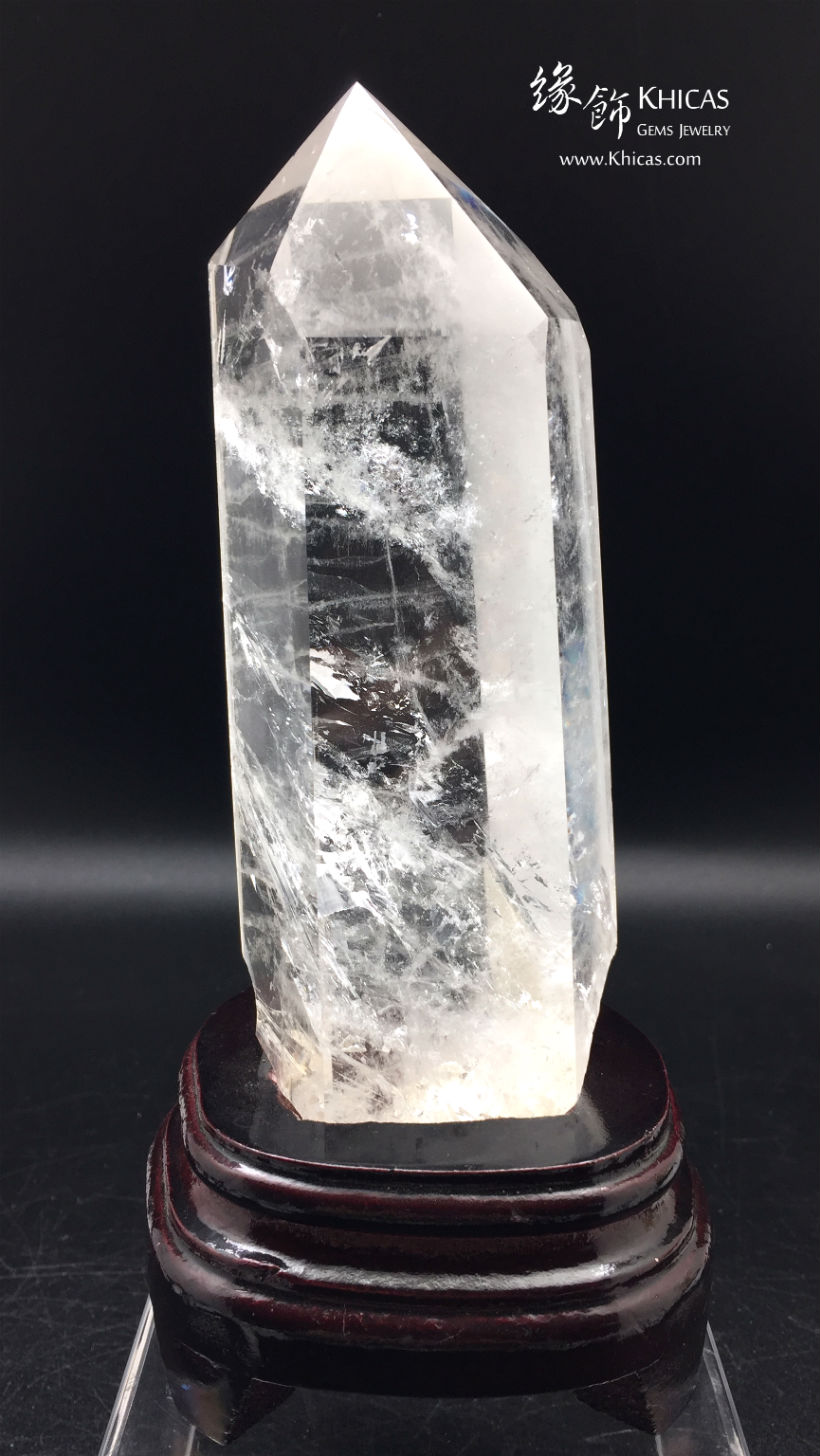 巴西白水晶柱 White Crystal Quartz Point CP1508046-538A @ Khicas Gems Jewelry 緣飾天然水晶