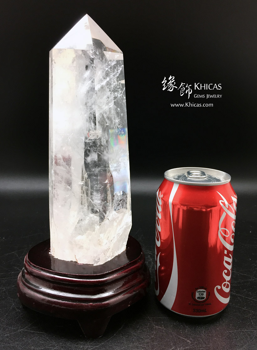 巴西白水晶柱 White Crystal Quartz Point CP1508047-580 @ Khicas Gems Jewelry 緣飾天然水晶