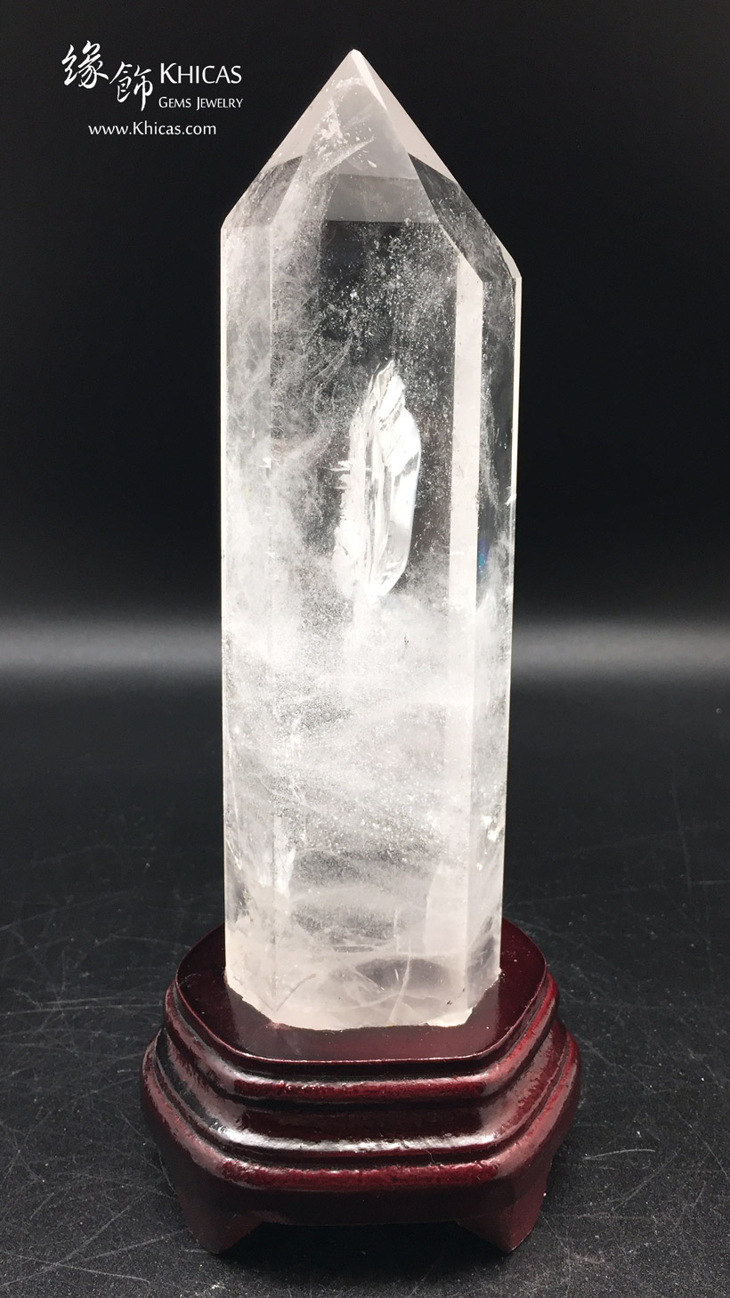 巴西白水晶柱 White Crystal Quartz Point CP1508048-581 @ Khicas Gems Jewelry 緣飾天然水晶