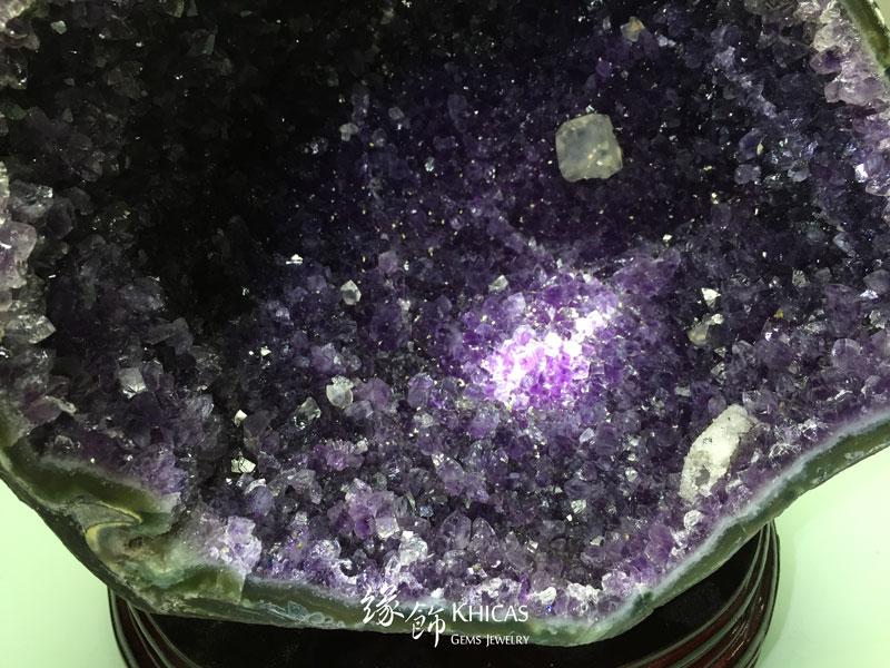 烏拉圭錢袋紫晶洞 GE1505010 @ Khicas Gems 緣飾