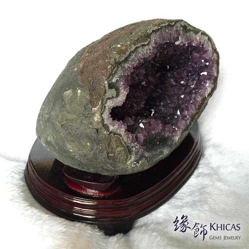 烏拉圭錢袋紫晶洞 GE1505011 @ Khicas Gems 緣飾