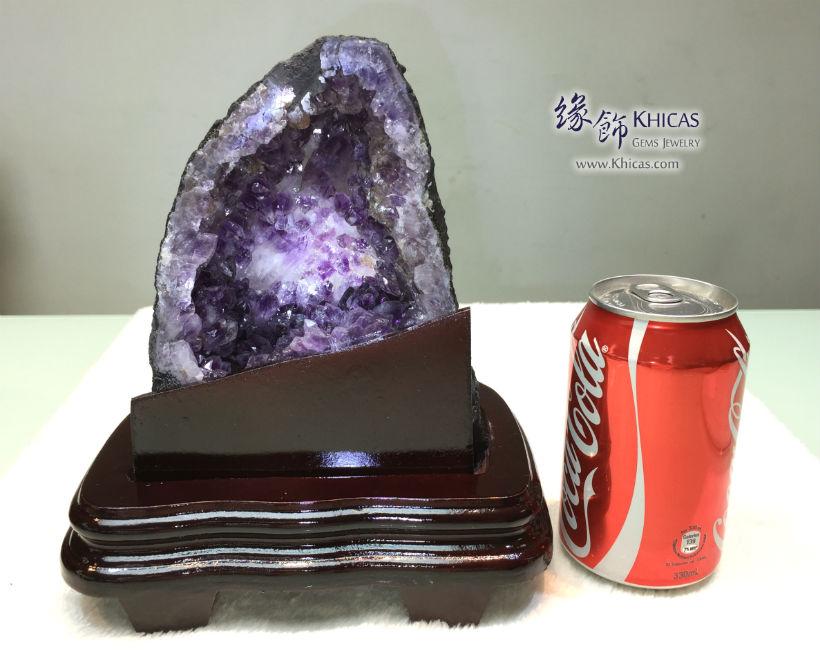 巴西迷你紫晶洞 Brazil Mini Geode GE1505025-549 @ Khicas Gems Jewelry 緣飾天然水晶