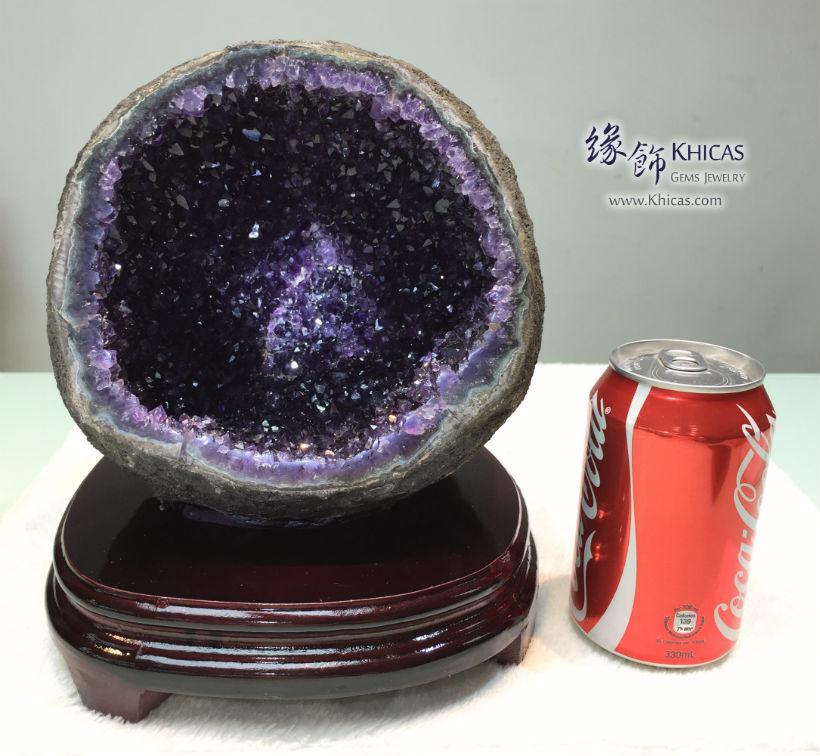 烏拉圭錢袋紫晶洞 Uruguay Geode GE1505026-718 @ Khicas Gems Jewelry 緣飾天然水晶