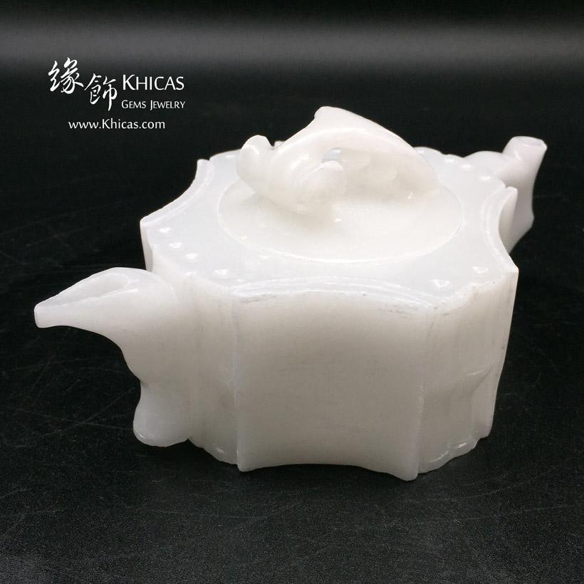 漢白玉茶具套裝擺設 Alabaster Tea Pot Set Craving DEC1410044 @ Khicas Gems Jewelry 緣飾天然水晶