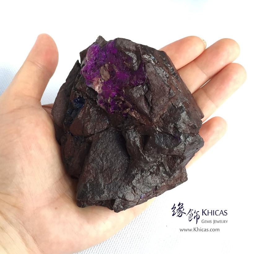 南非皇家紫舒俱徠原礦 / 原石 92x65x43mm Sugilite Rough Stone DEC1410051-229 @ Khicas Gems Jewelry 緣飾天然水晶