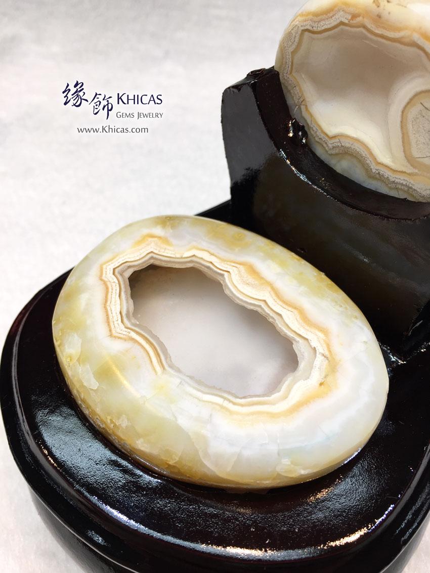 天然瑪瑙聚寶盆 Agate Treasure Bowl DEC1410066 @ Khicas Gems 緣飾