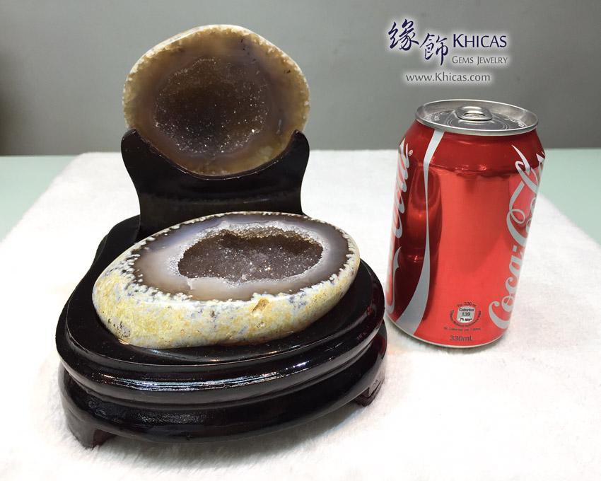 天然瑪瑙聚寶盆 Agate Treasure Bowl DEC1410090-476 @ Khicas Gems Jewelry 緣飾天然水晶