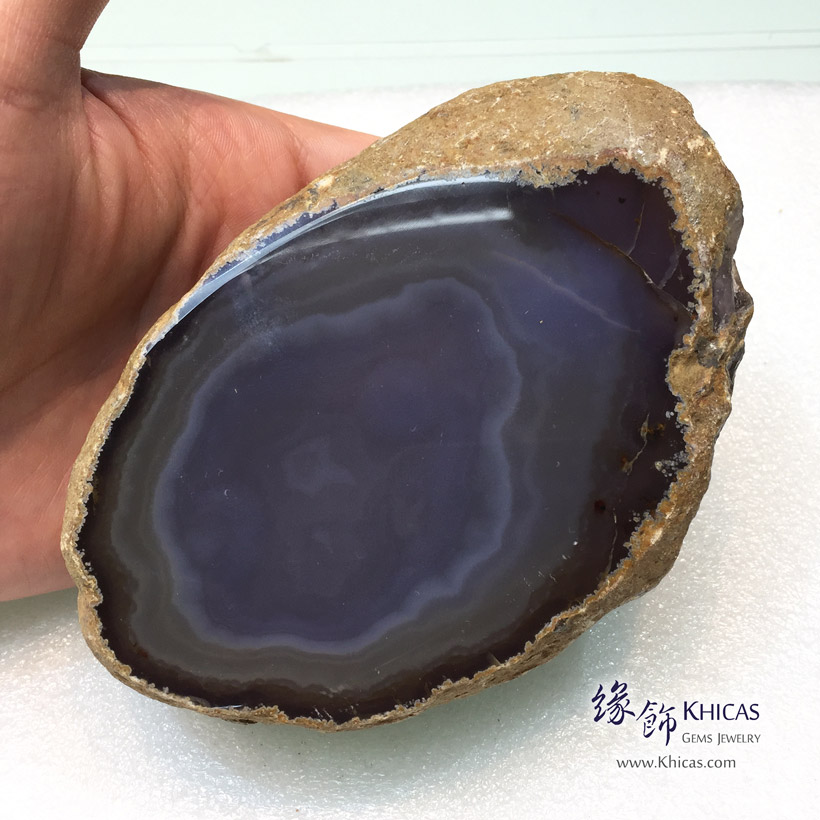 水膽瑪瑙原石/原礦 Enhydro Agate Rough Raw Stone DEC1410119-593 @ Khicas Gems Jewelry 緣飾天然水晶