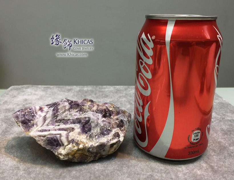 巴西夢幻紫水晶原礦/原石 Amethyst Rough Raw Stone DEC1410124 @ Khicas Gems Jewelry 緣飾天然水晶