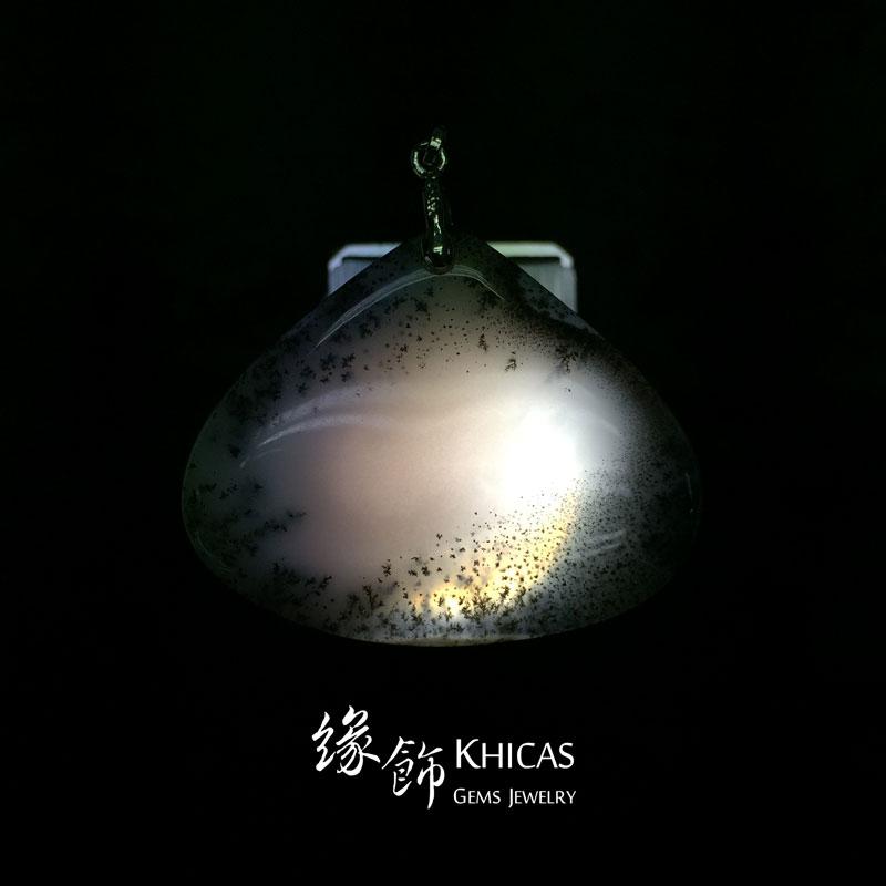 馬達加斯加 Dandiratic Opal蛋白石吊墜 Pendant P1410155 @ Khicas Gems 緣飾