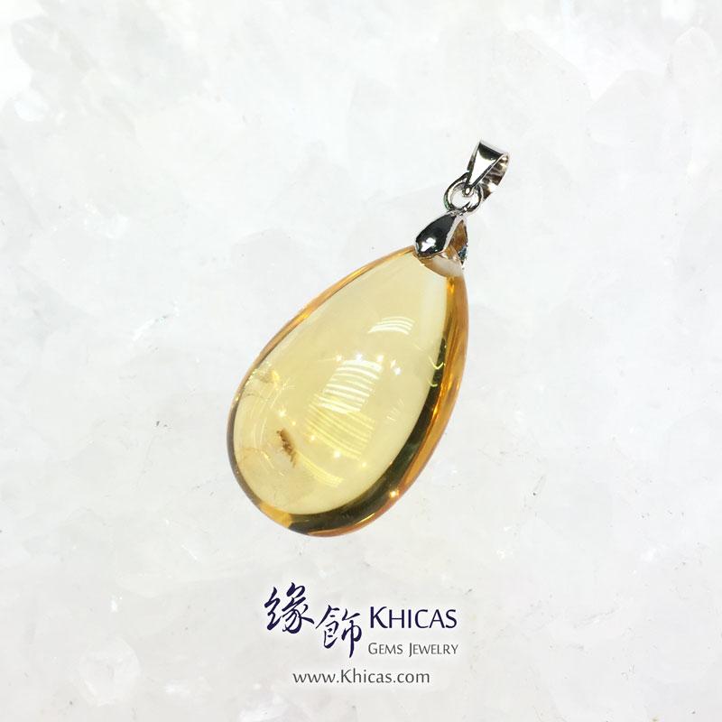 巴西黃晶水滴型吊墜 Citrine Pendant P1410673 @ Khicas Gems 緣飾