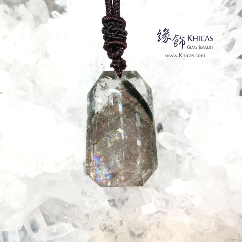 巴西綠幽靈吊墜(小) Green Phantom Pendant P1411144-N8 @ Khicas Gems 緣飾天然水晶
