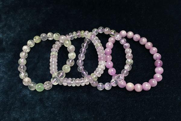 紫鋰輝石 Kunzite Khicas Gems 緣飾