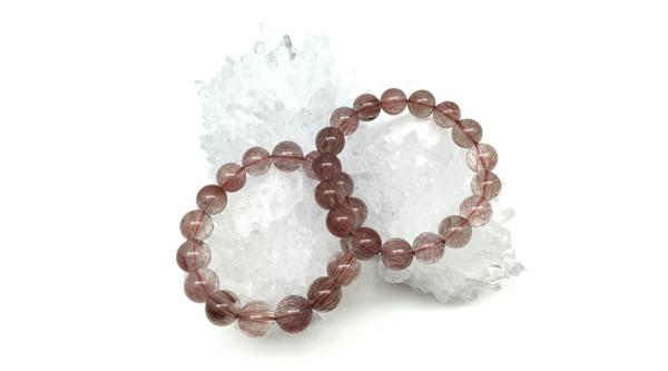 紅髮晶 Red Rutilated Quartz 紅兔毛髮晶 維納斯水晶 Khicas Gems 緣飾